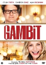 GAMBIT PAL/REGION 2 // W/ COLIN FIRTH, CAMERON DIAZ MOVIE, DVD
