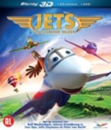 Jets - De vliegende helden, (Blu-Ray) .. HELDEN // BLU RAY 3D + 2D + DVD ANIMATION, Blu-Ray