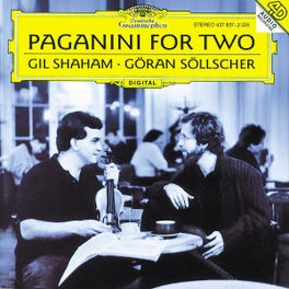 PAGANINI FOR TWO SHAHAM SOELLSCHER Audio CD, N. PAGANINI, CD