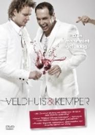 Veldhuis & Kemper - Dan maar niet gelukkig, (DVD) INCL. BONUS 'U HEEFT ONS NOG NIET GEZIEN' VELDHUIS & KEMPER, DVD