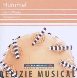 PIANO WORKS GIULIANA CORNI J.N. HUMMEL, CD