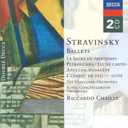 PETRUSHKA/FIREBIRD ROYAL CONCERTGEBOUW ORCH./RICCARDO CHAILLY Audio CD, I. STRAVINSKY, CD