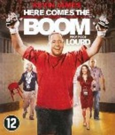 Here comes the boom, (Blu-Ray) BILINGUAL // W/ KEVIN JAMES, SALMA HAYEK MOVIE, BLURAY