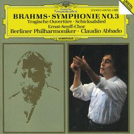 SYMPHONY NO.3 ERNST SENFF CHOR BP ABBADO Audio CD, J. BRAHMS, CD