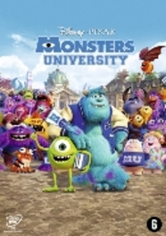 Monsters university, (DVD) CAST: JOHN GOODMAN, STEVE BUSCEMI ANIMATION, DVDNL