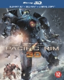 Pacific rim (2D + 3D), (Blu-Ray) BILINGUAL/3D+2D+DIG.COPY / W/ IDRIS ELBA,CHARLIE HUNNAM MOVIE, BLURAY