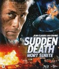 SUDDEN DEATH BILINGUAL // W/ JEAN-CLAUDE VAN DAMME MOVIE, BLURAY