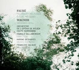 PELLEAS ET MELISANDE/SIEG ORCH.OPERA DE ROUEN FAURE/WAGNER, CD