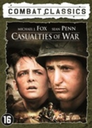 CASUALTIES OF WAR CAST: SEAN PENN, MICAHEL J. FOX MOVIE, DVDNL
