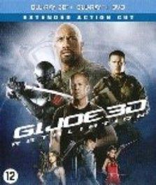 G.I. Joe 2 - Retaliation 3D, (Blu-Ray) BILINGUAL-SUPERSET 3D+2D & DVD // W/ DWAYNE JOHNSON MOVIE, Blu-Ray