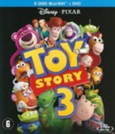 Toy story 3, (Blu-Ray) CAST: TOM HANKS, TIM ALLEN ANIMATION, Blu-Ray