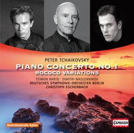 PIANO CONCERTO NO.1/ROCOC DEUTSCHES S.O. BERLIN/ESCHENBACH P.I. TCHAIKOVSKY, CD