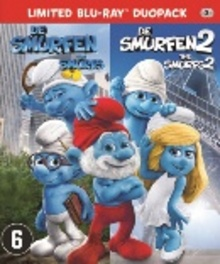 De smurfen 1 & 2, (Blu-Ray) ALL REGIONS MOVIE, Blu-Ray