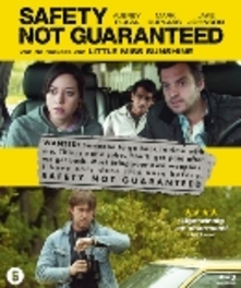 SAFETY NOT GUARANTEED W/ AUBREY PLAZA, MARK DUPLASS MOVIE, BLURAY