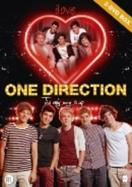 ONE DIRECTION BOX 2 DOCU'S I LOVE ONE DIRECTION & THE ONLY WAY IS UP ONE DIRECTION, DVDNL