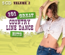 101 GREAT COUNTRY LINE.. .. DANCE HITS VOL.2 V/A, CD