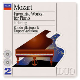 FAVOURITE WORKS FOR PIANO W/ALFRED BRENDEL Audio CD, W.A. MOZART, CD