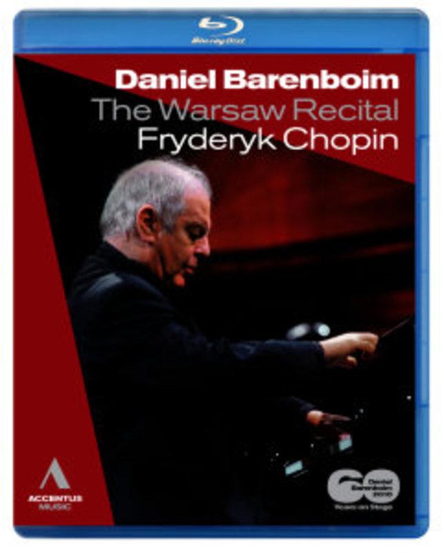 Daniel Barenboim - Piano Works - Warsaw Recital
