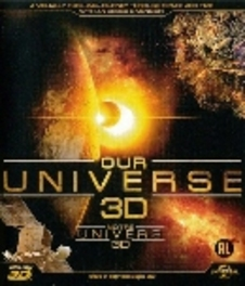 Our universe 3D, (Blu-Ray) BILINGUAL DOCUMENTARY, Blu-Ray