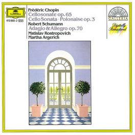 CELLOSONATES/POLONAISE ROSTROPOVICH/ARGERICH Audio CD, F. CHOPIN, CD
