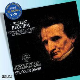 REQUIEM/SYMPHONIE FUNEBRE LONDON SYMPHONY ORCHESTRA/COLIN DAVIS Audio CD, H. BERLIOZ, CD