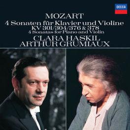 4 SON.FOR VIOLIN&PIANO HASKIL,PIANO/GRUMIAUX,VIOLIN Audio CD, W.A. MOZART, CD