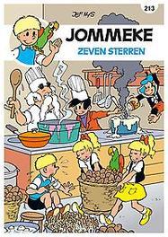 JOMMEKE 213. ZEVEN STERREN JOMMEKE, Nys, Jef, Paperback