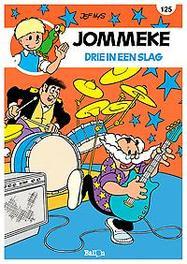 JOMMEKE 125. DRIE IN ÉÉN SLAG JOMMEKE, Nys, Jef, Paperback