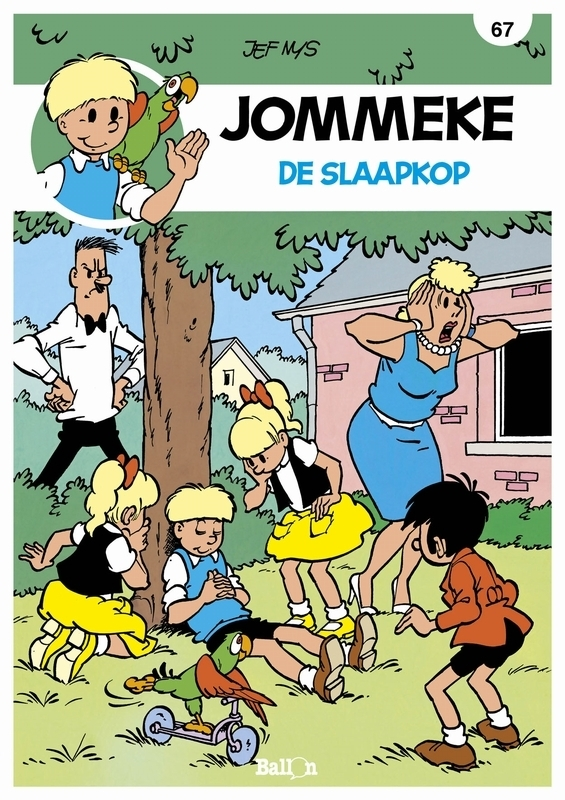 JOMMEKE 067. DE SLAAPKOP JOMMEKE, Nys, Jef, Paperback