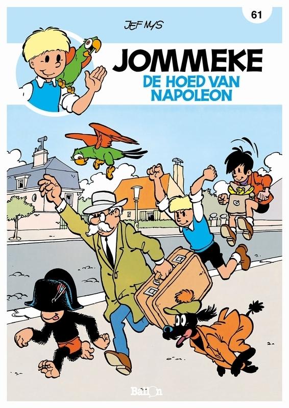 JOMMEKE 061. DE HOED VAN NAPOLEON De hoed van Napoleon, Nys, Jef, Paperback