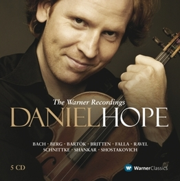 COMPLETE WARNER RECORDING DANIEL HOPE, CD