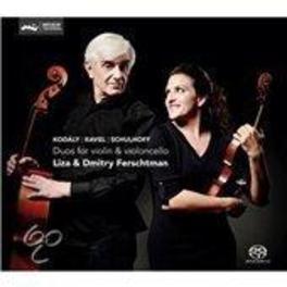DUOS FOR VIOLIN.. -SACD- .. & VIOLONCELLO FERSCHTMAN, LIZA & DMITRY, CD