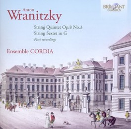 STRING QUINTET/STRING SEX ENSEMBLE CORDIA A. WRANITZKY, CD