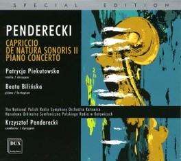 WORKS OF PENDERECKI PATRYCJA PIEKUTOWSKA & BEATA BILINSKA Audio CD, K. PENDERECKI, CD