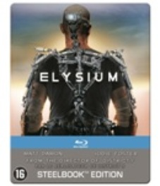 ELYSIUM -LTD- BILINGUAL-STEELBOOK // W/ MATT DAMON, JODIE FOSTER MOVIE, BLURAY