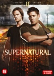 SUPERNATURAL SEASON 8 PAL/REGION 2-BILINGUAL // 23 EPISODES TV SERIES, DVD