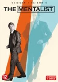 Mentalist - Seizoen 5, (DVD) BILINGUAL /CAST: SIMON BAKER, ROBIN TUNNEY TV SERIES, DVDNL