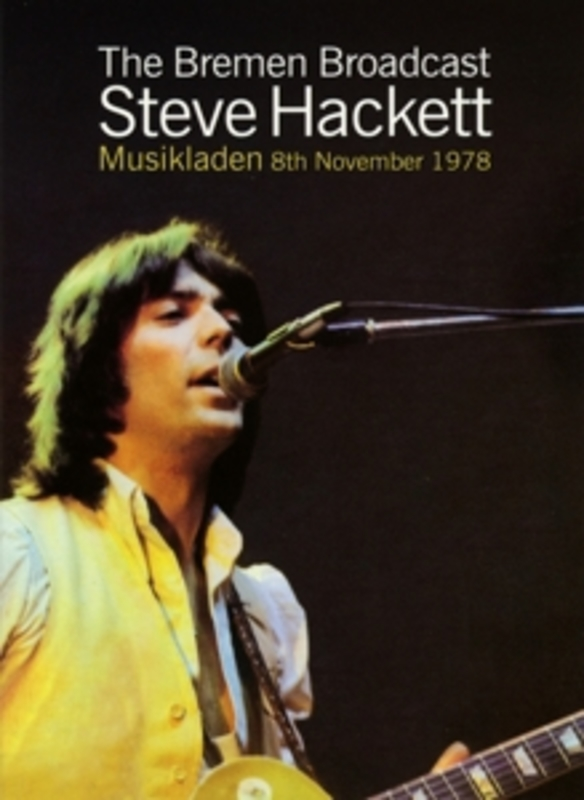 BREMEN BROADCAST * MUSIKLADEN 8TH NOVEMBER 1978 * // NTSC/ALL REGIONS STEVE HACKETT, DVD