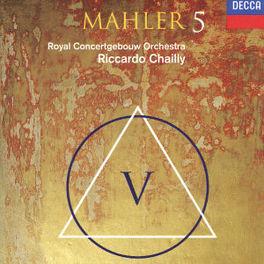 SYMPHONY NO.5 W/RICCARDO CHAILLY, KON.CONCERTGEBOUW ORKEST Audio CD, G. MAHLER, CD