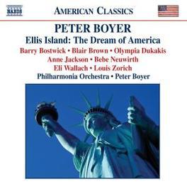 ELLIS ISLAND PHILHARMONIA ORCHESTRA/PETER BOYER P. BOYER, CD