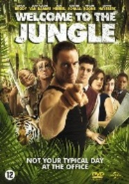 Welcome to the jungle, (Blu-Ray) BILINGUAL // W/ JEAN-CLAUDE VAN DAMME, ADAM BRODY MOVIE, BLURAY