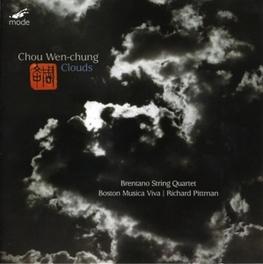 CLOUDS BRENTANO STRING QUARTET/R.PITTMAN WEN-CHUNG, C., CD