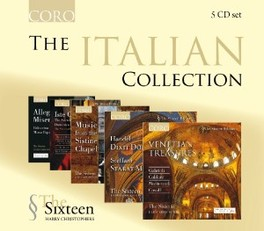 ITALIAN COLLECTION HARRY CHRISTOPHERS SIXTEEN, CD