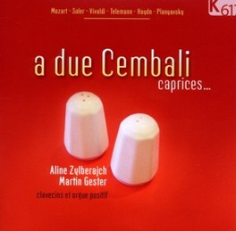 A DUE CEMBALI:CAPRICES GESTER ZYLBERAJCH, CD