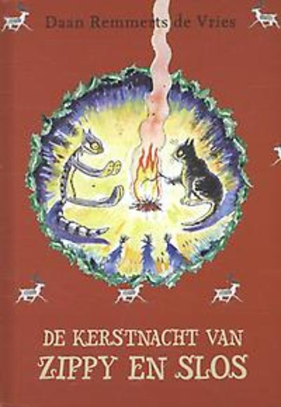De kerstnacht van Zippy en Slos Remmerts De Vries, Daan, Hardcover