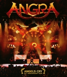 ANGELS CITY 20TH ANNIVERSARY LIVE ANGRA, BLURAY