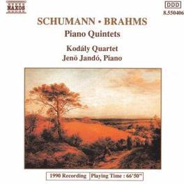 PIANO QUINTET JENO JANDO/KODALY QUARTET SCHUMANN/BRAHMS, CD
