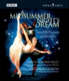 A MIDSUMMER NIGHT S  DREAM, MENDELSSOHN, FELIX, FLEMING, C. C.RIZZI//*BLU-RAY* Blu-Ray, MENDELSSOHN-BATHOLDY, F., BLURAY