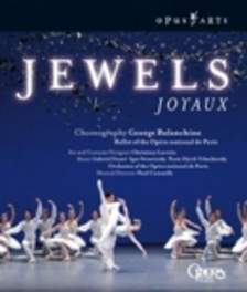 JEWELS, FAURE/STRAVINSKY/TCHAIKOVSKY, BALANCHINE/CONNELLY BALLET & ORCHESTRA OF THE OPERA/BALANCHINE Blu-Ray, FAURE/STRAVINSKY, Blu-Ray