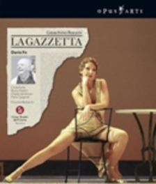 LA GAZZETTA, ROSSINI, GIOACHINO, BARBACINI, M. ORCHESTRA AC.GRAN LICEU/BARBACINI//ALL REGIONS Blu-Ray, G. ROSSINI, Blu-Ray